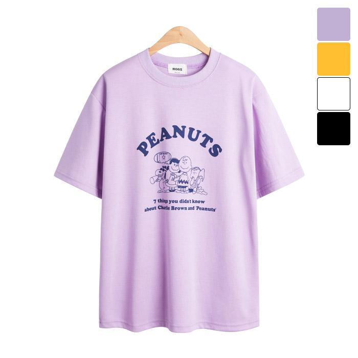 [모니즈] 찰리 말풍선 반팔 티셔츠 TSB835