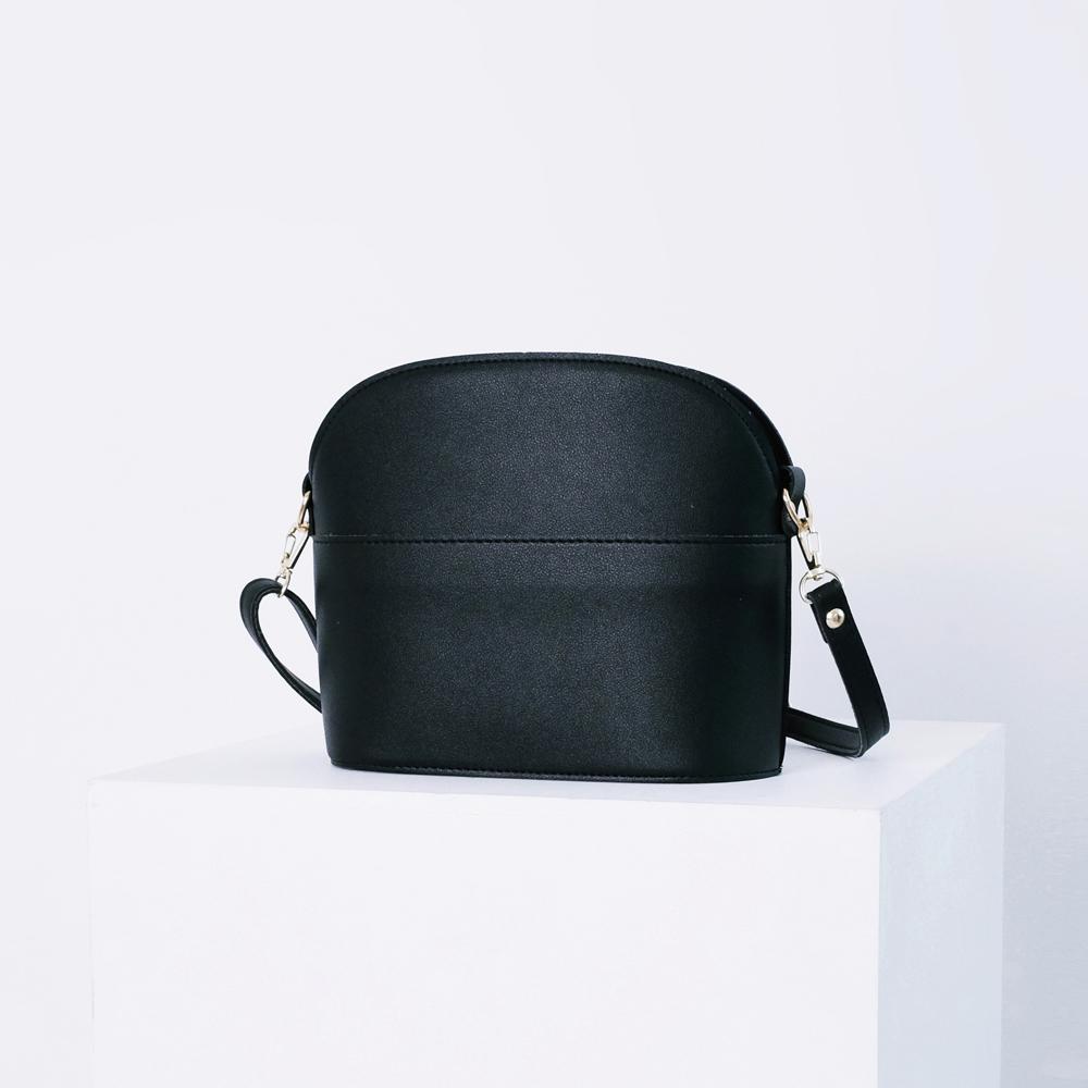 에스티빠레트 미니튤립크로스백 블랙 미니백 숄더백 가죽 레더 여성가방