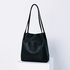 에스티빠레트 시크 숄더백 블랙 가죽 레더 여성가방