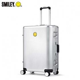 [스마일리] 알루미늄 프레임 캐리어 TSA락 여행가방 수화물용 24인치 오리지널2 SO-L8224 (실버)