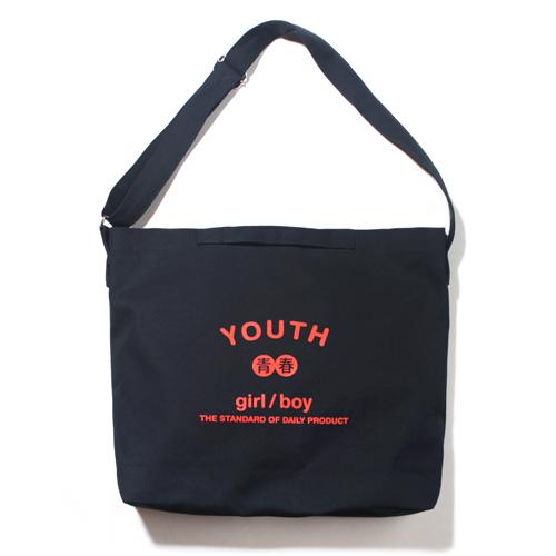 [벗딥]BUTDEEP - YOUTH 2WAY BAG-NAVY 투웨이 에코백 크로스백