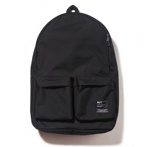 [벗딥]BUTDEEP - 19AW 2PK NYLON BACKPACK-BLACK 백팩