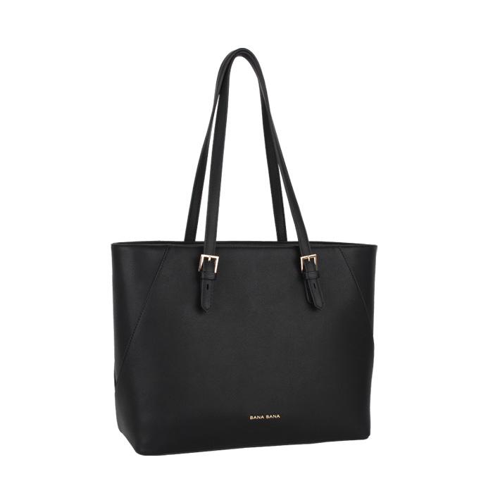 [바나바나] 바네사A 쇼퍼백 HMWCA094VA1 블랙 여성가방