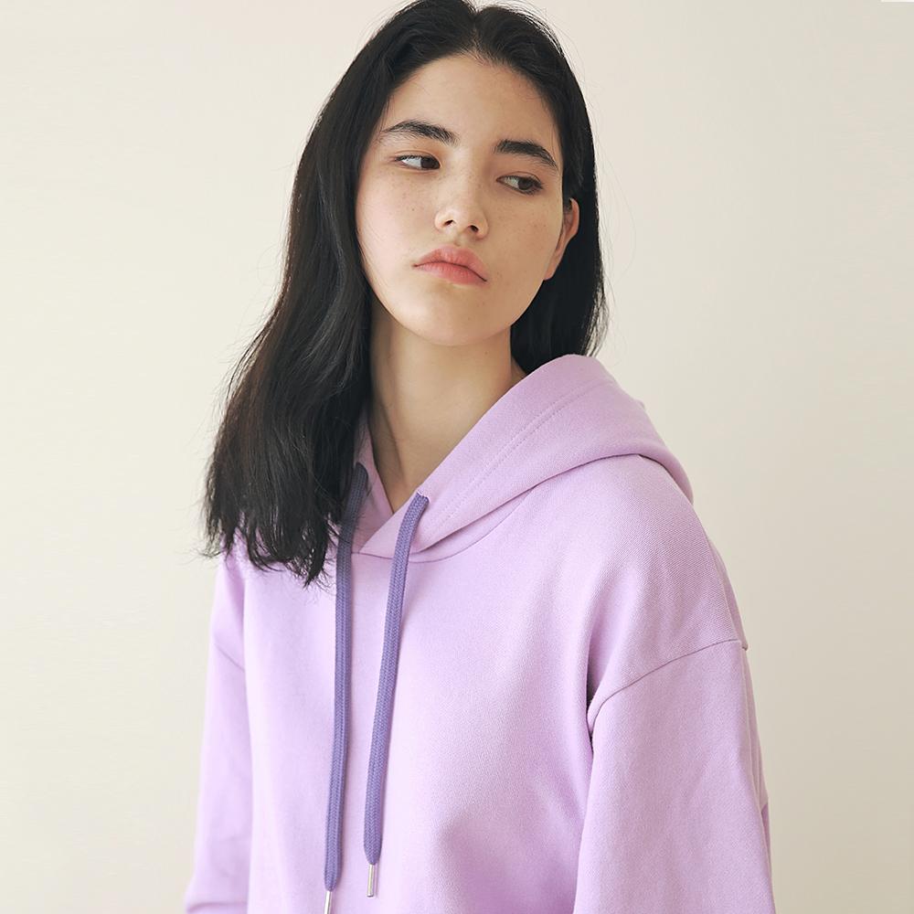 [엠오오] MOO - Minimal Hood Violet 후드 후디