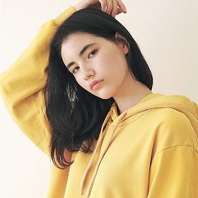 [엠오오] MOO - Minimal Pigment Hood Mustard 후드 후디
