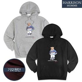 [해리슨] 남자 기모 베어 후드티 NWS1139