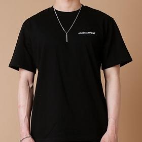 [크로스커렌트] CROSSCURRENT - CCT Small Logo Short Sleeve - BLACK 반팔티셔츠