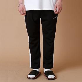 [크로스커렌트] CROSSCURRENT - CCT Side Line Training Pants - BLACK 트레이닝바지 츄리닝 긴바지