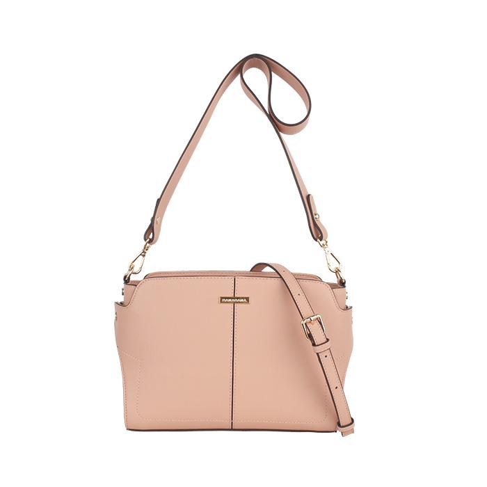 [바나바나] 소가죽 레니C 숄더백 HMWCC149EA5 핑크 여성가방