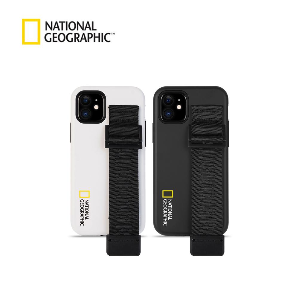 내셔널지오그래픽 스트랩 더블 프로텍티브 시그니처 위빙 - 아이폰 케이스