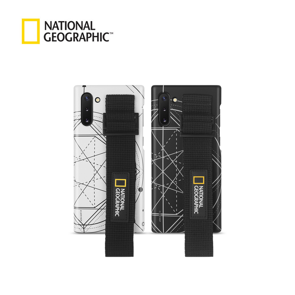 내셔널지오그래픽 스트랩 슬림핏 로고 패치 - 갤럭시 케이스