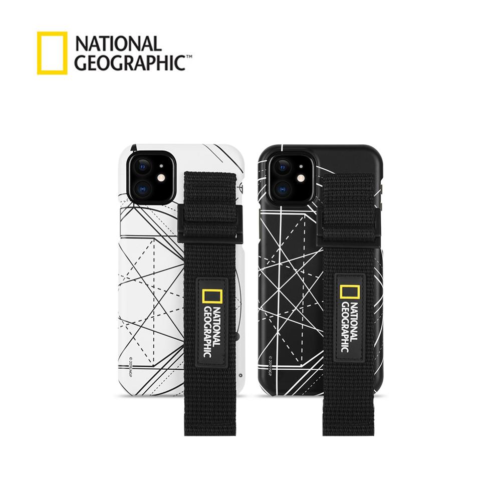 내셔널지오그래픽 스트랩 슬림핏 로고 패치 - 아이폰 케이스