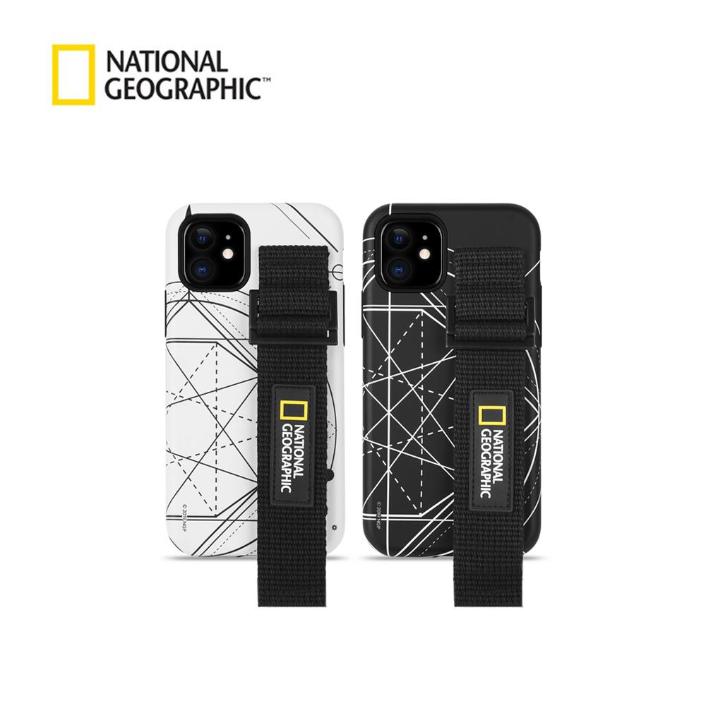 [내셔널지오그래픽]스트랩 더블 프로텍티브 로고 패치 케이스 - 아이폰용