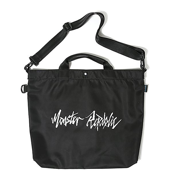 [몬스터리퍼블릭][사은품 키링 증정/구매후기 지갑증정] MOVEMENT LOGO CROSS BAG / BLACK