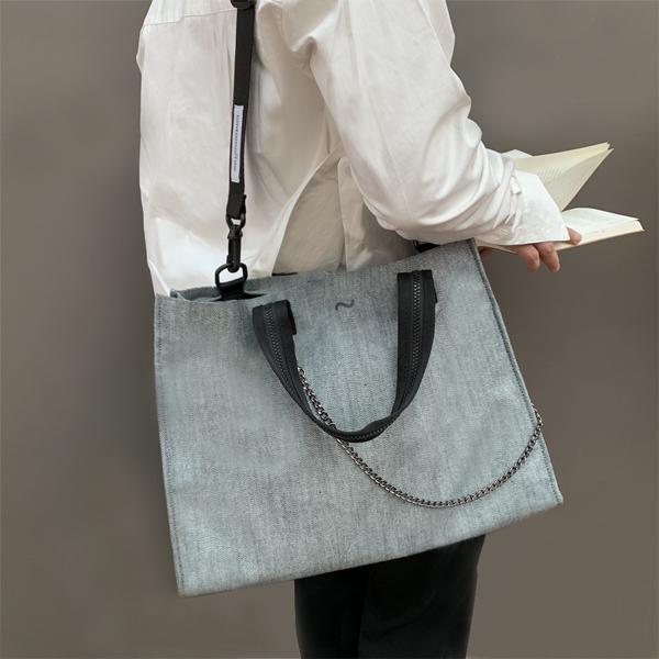 [톰투머로우]TOMTOMORROW signature bag (gy) 토트백 크로스백 숄더백