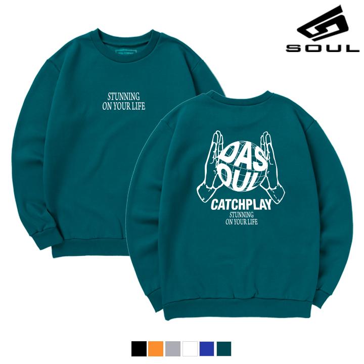 DASOUL - EARTH BALL  - (SBMS8S-035) - 맨투맨