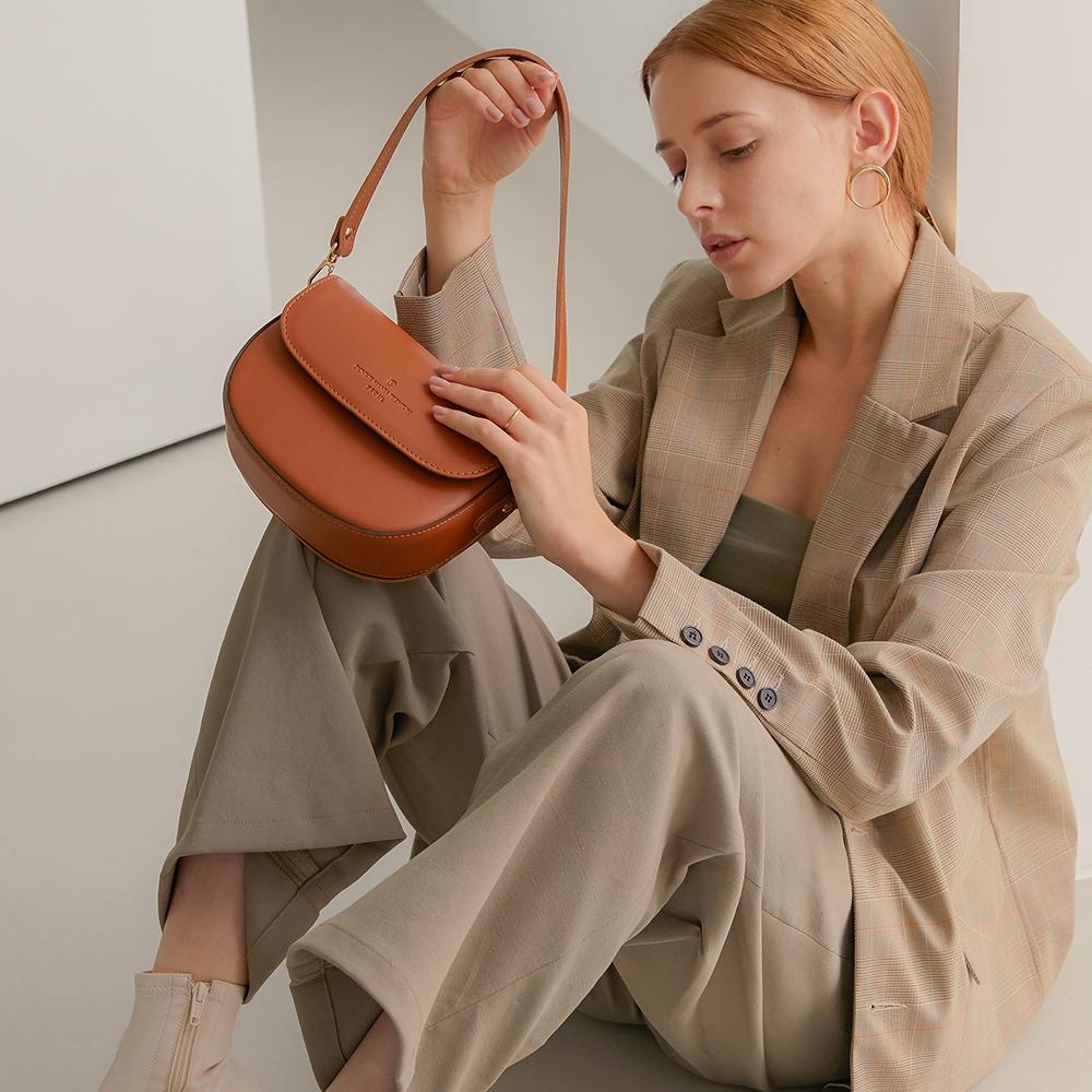 [돈키]DONKIE - 하프문 백 - D1017 (16color) 크로스백 여성가방