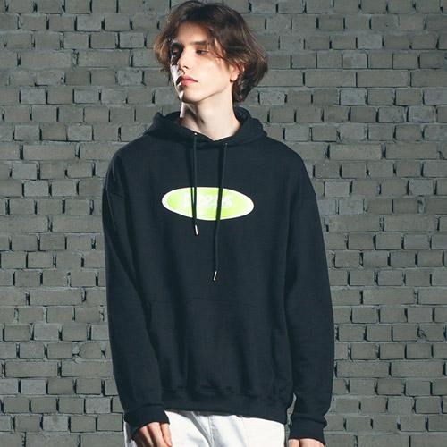 [핍스] PEEPS Basic logo hoody(black)_핍스 후드티