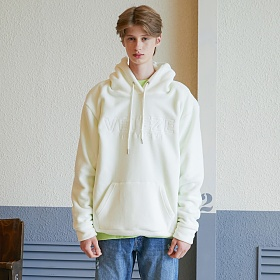 베테제 - Basic Fleece Hood (ivory) 베이직 후리스 후드