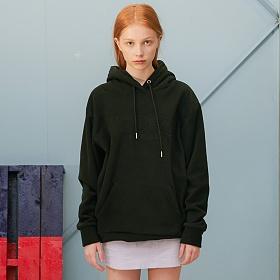 베테제 - Basic Fleece Hood (black) 베이직 후리스 후드
