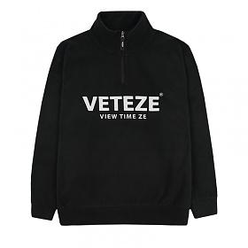 베테제- Basic Fleece Pullover (black) 베이직 후리스 풀오버
