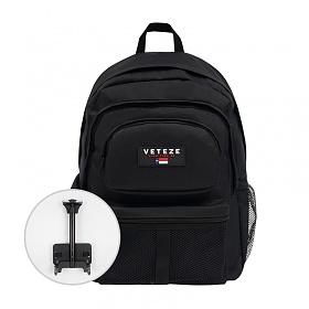 베테제 - Retro Sport Bag 2 (black) 레트로 스포츠 2 (블랙) 롤링백팩 캐리어 메쉬 백팩