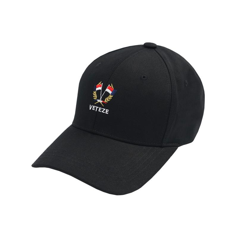 베테제 - Flag Ball Cap (black) 플래그 볼캡 (블랙)