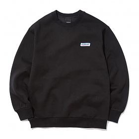 [에시드블랙] ACIDBLACK - WAVE WAPPEN MTM (BLACK) 맨투맨 크루넥 스��셔츠