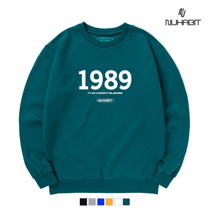 뉴해빗 - 1989 LOGO - (SBM9S-7098) - 맨투맨