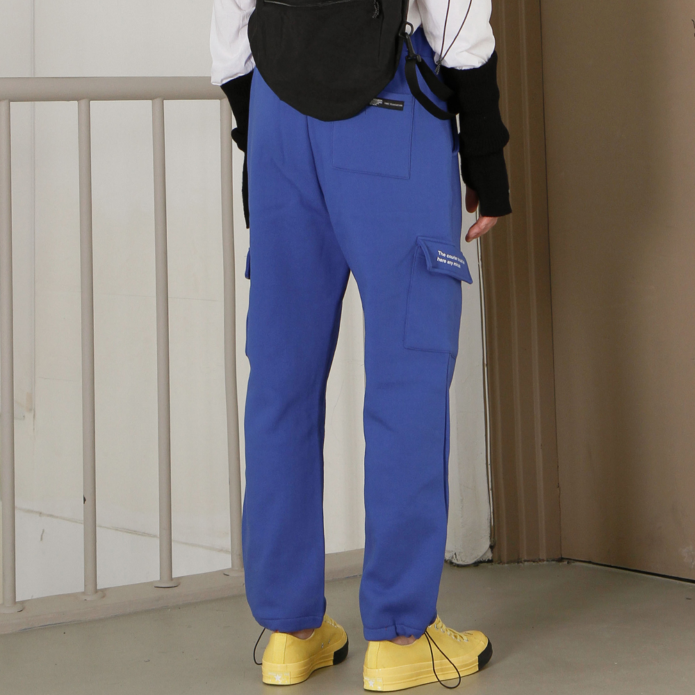 [피스메이커]RELAX CARGO PANTS (BLUE)