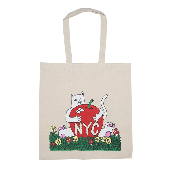 립앤딥 RND0477N New York Tote Bag-Natural 에코백