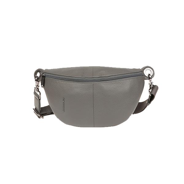 [만다리나덕]MANDARINADUCK - MELLOW LEATHER bum bag FZT7313D (smoked pearl) 힙색