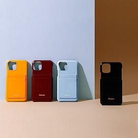 [페넥]FENNEC LEATHER iPHONE 11PRO CARD CASE (6COLORS) 아이폰 11pro 휴대폰 카드케이스