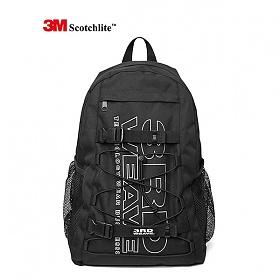 써드위브 3M SCOTCHLITE™ BACKPACK / BLACK 스카치라이트 리플렉티브 백팩