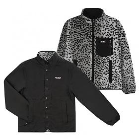베테제 - Logo Reversible Zipup (leopard/black) 로고 리버시블 집업 (레오파드/블랙)