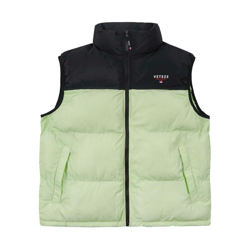 베테제 - Basic Padding Vest (neon) 베이직 패딩 베스트 (네온)