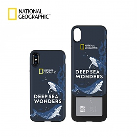 MD추천[내셔널지오그래픽]Deep sea 아이슬라이드 케이스 - 아이폰용