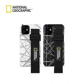 [MD추천] 내셔널지오그래픽 스트랩 슬림핏 로고 패치 - 아이폰 케이스