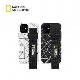 MD추천[내셔널지오그래픽]스트랩 더블 프로텍티브 로고 패치 케이스 - 아이폰용