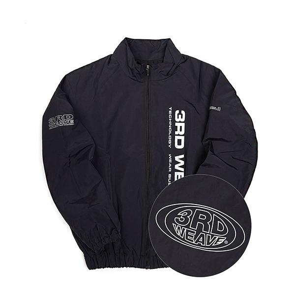 써드위브 SPORT LOGO TRACK JACKET / BLACK 스포츠 로고 트랙 자켓