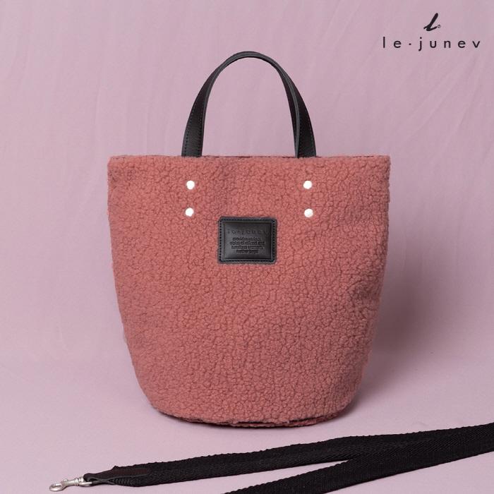 [리쥬네브]덤블 토트백 L1834 핑크