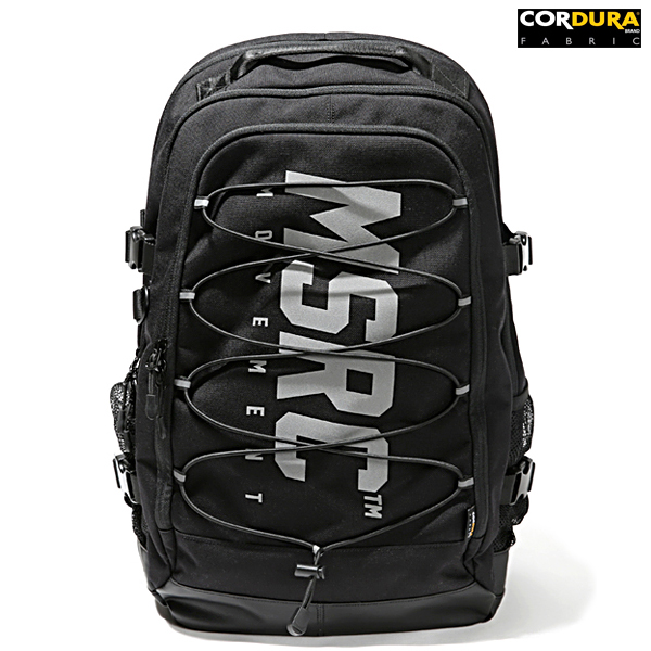 몬스터리퍼블릭 CORDURA MSRC LOGO BACKPACK / BLACK