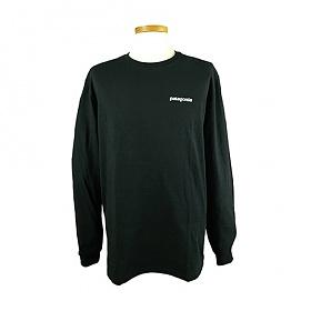 [EspaceOne] PATAGONIA 39161 BLK 파타고니아 로고 긴팔 티셔츠 F19E345S