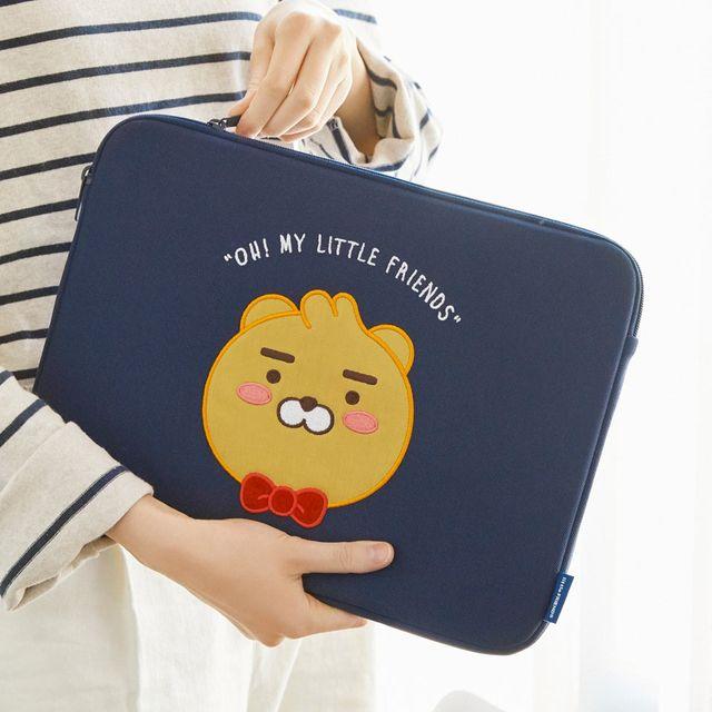 공식md 베이직노트북파우치 15인치-리틀라이언