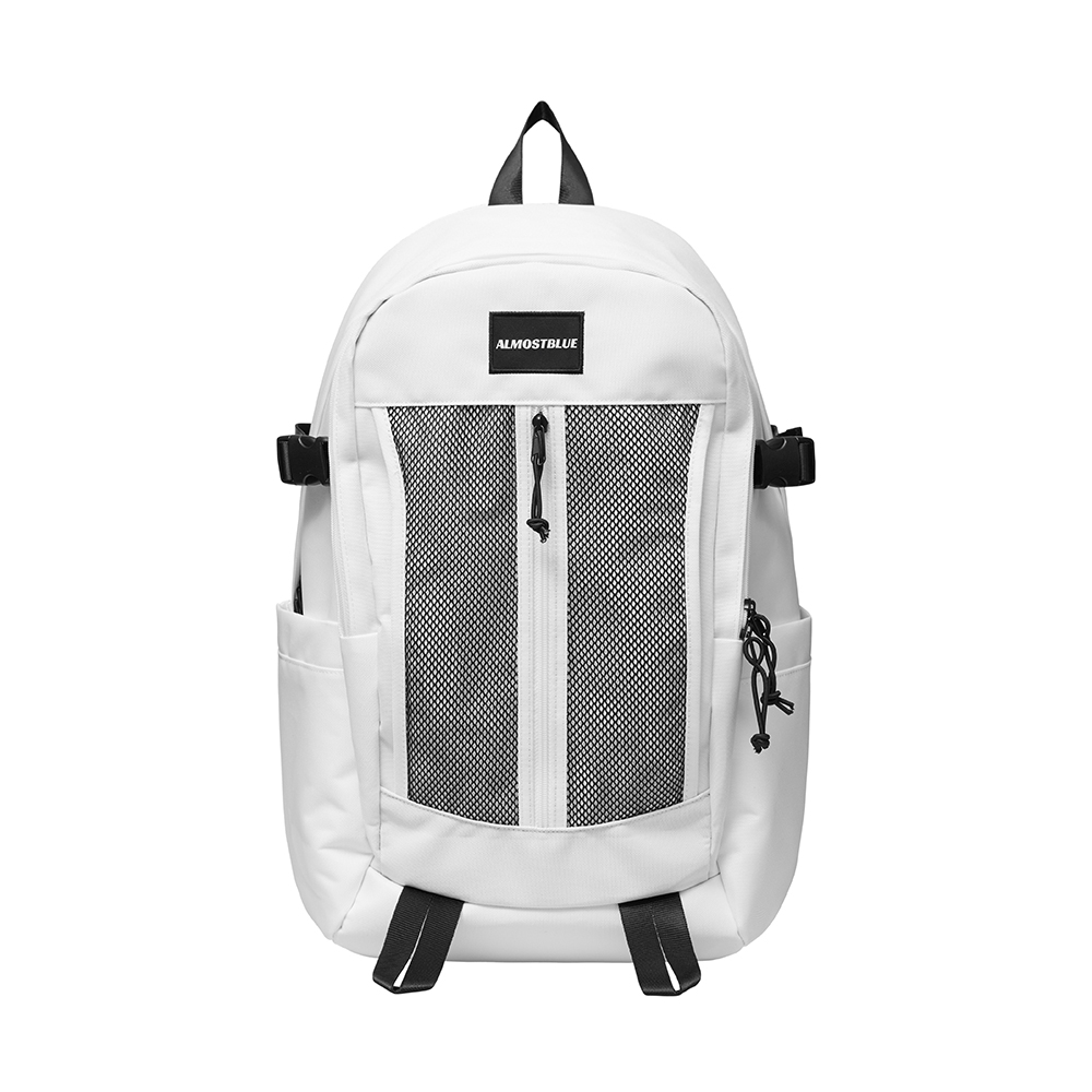 얼모스트블루 UTILITY BACKPACK - WHITE 신학기 백팩