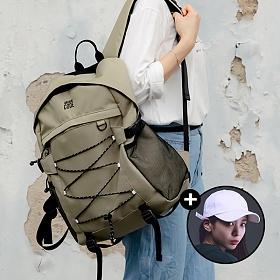 [볼캡증정!][아케이드코드] 벙커 백팩 - 베이지 학생가방