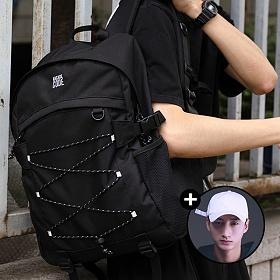 [볼캡증정!][아케이드코드] 벙커 백팩 - 블랙 학생가방