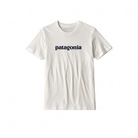 파타고니아 텍스트 로고 오가닉 티셔츠 WHT / 39154