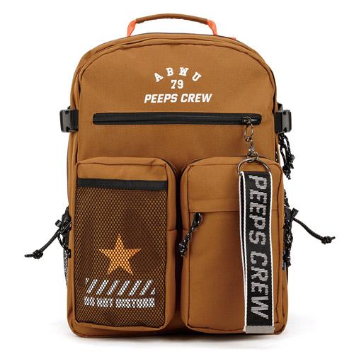 핍스 ABWU backpack(brown) 백팩