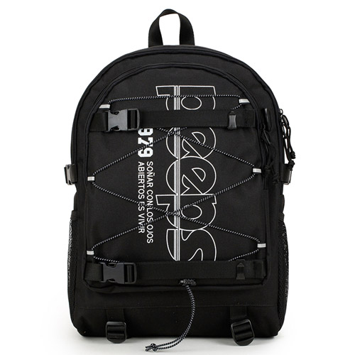 핍스 progressive backpack(black) 스트링 백팩